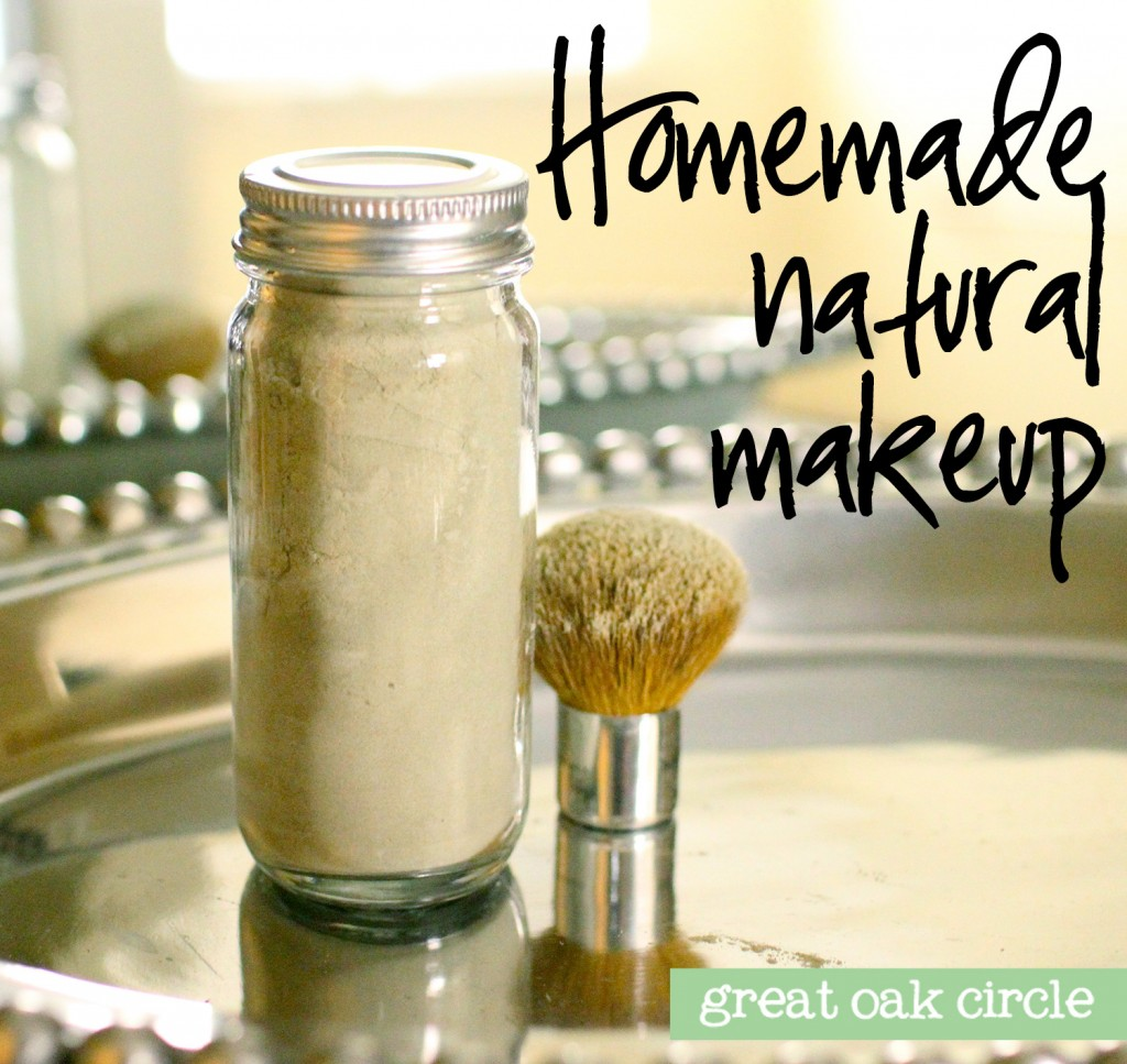 Homemade Natural Translucent Powder Makeup 