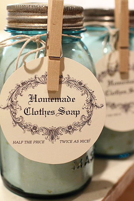 Homemade Laundry Detergent Great Oak Circle